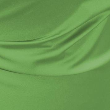 Satin microfibre royal vert pomme