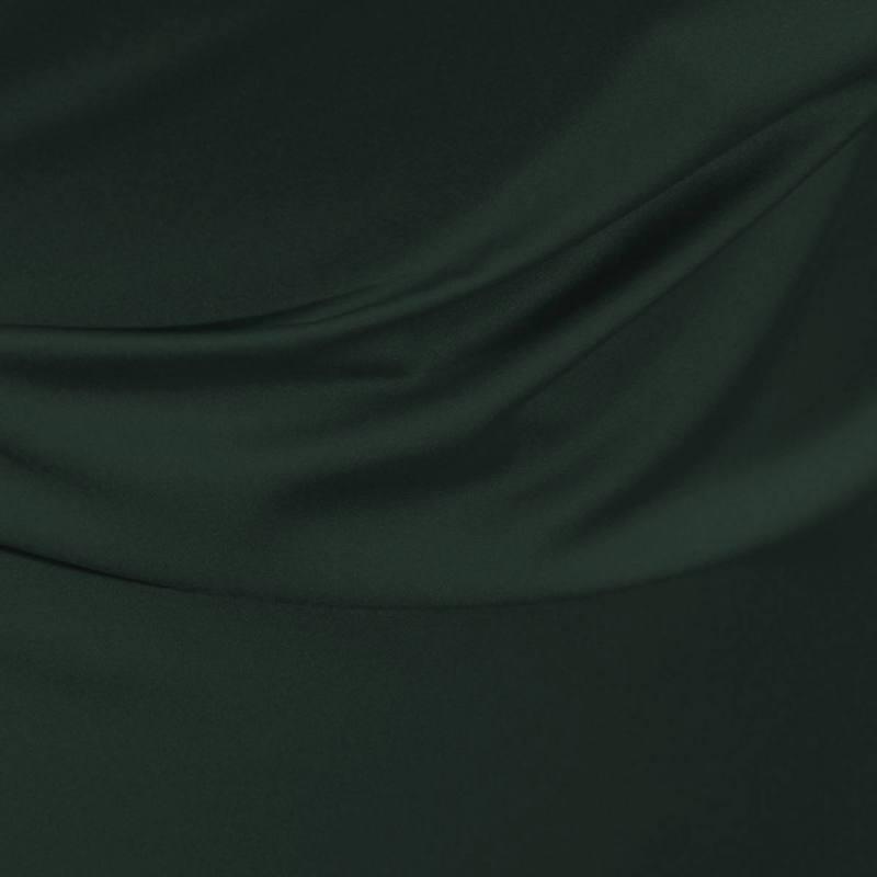 Satin microfibre royal vert sapin