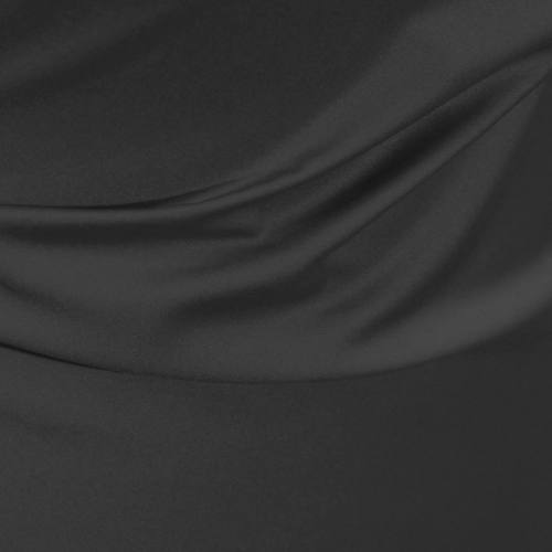 Satin microfibre royal anthracite
