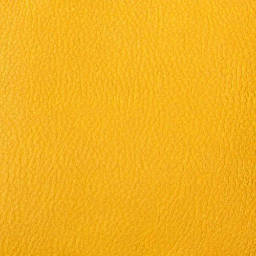 Simili cuir uni jaune