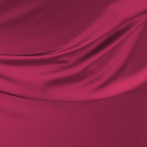 Satin microfibre royal framboise