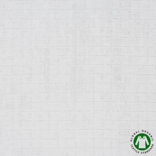 Coton tétra bio blanc