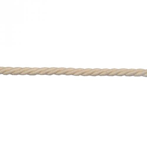 Corde coton 10 mm écrue