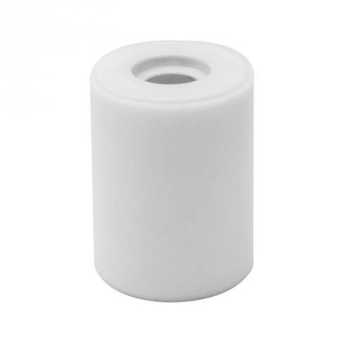 Ruban de tulle blanc bobine de 40M
