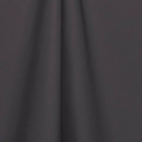 Toile polyester unie gris foncé