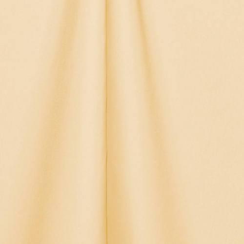 Toile polyester unie crème