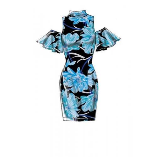 Patron McCall's M7621 : Robes pour jeune femme 34-50