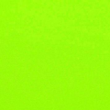 Burlington infroissable vert fluo