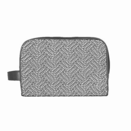 Simili cuir relief Charlize argent