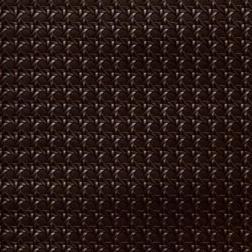 Simili cuir relief troquet marron