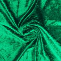 Panne de velours vert chlorophylle