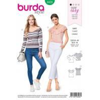 Patron Burda 6428 : T-shirt Taille 34-44