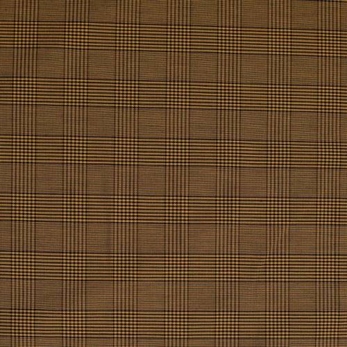 Tissu jaune à carreaux