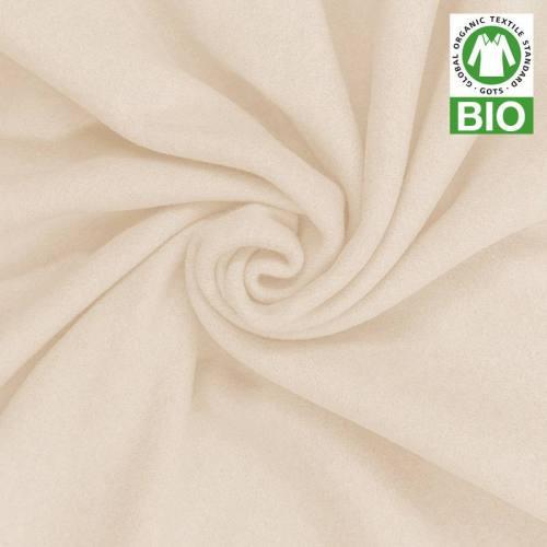 Polaire bio écru 100% coton