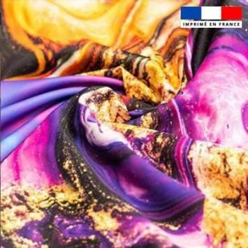 Tissu Effet de couleur