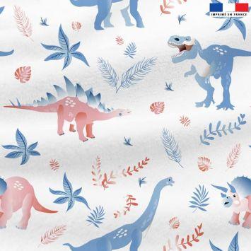 Tissu Dinosaure