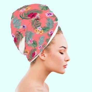 Coupon Serviette Turban Cheveux
